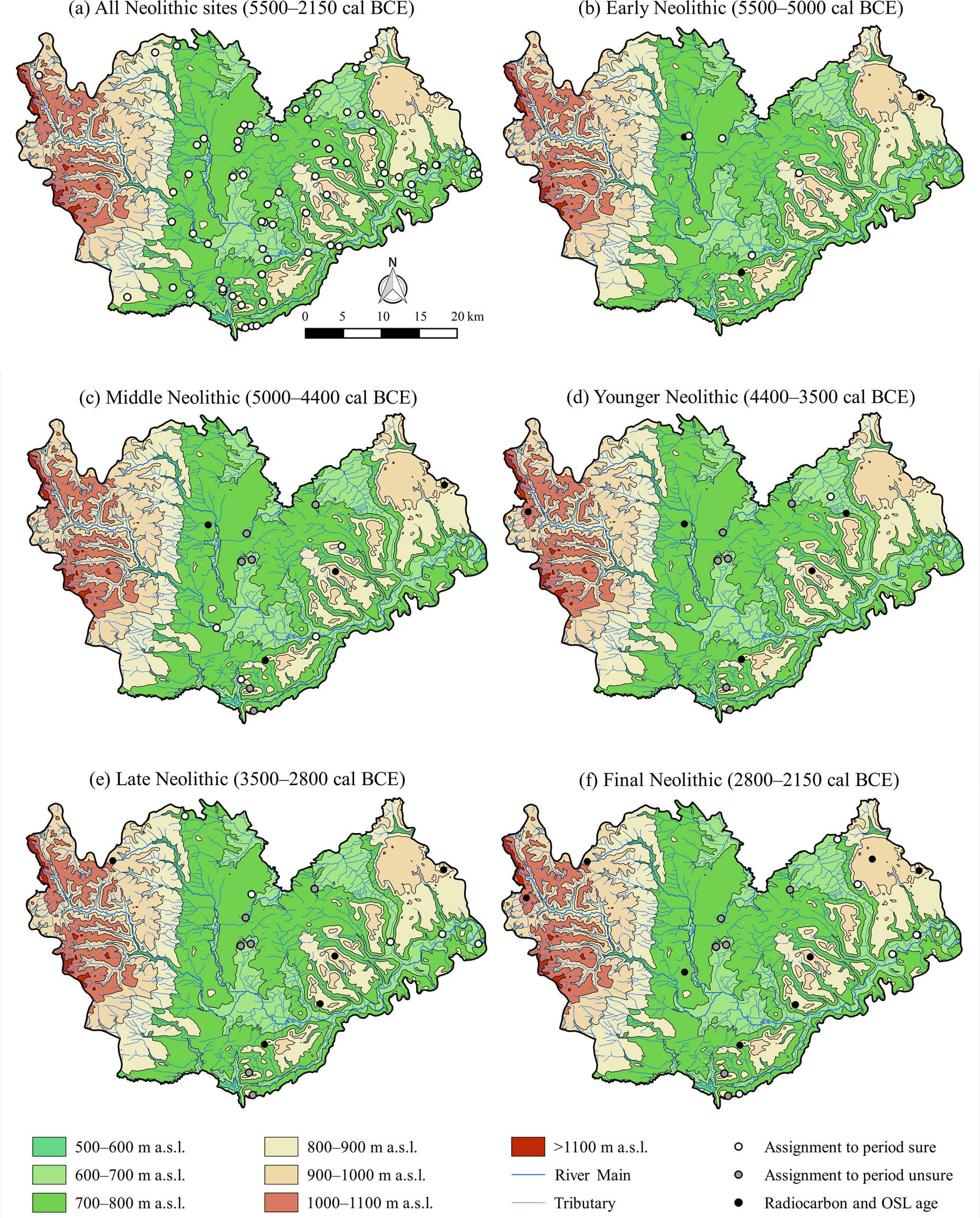 EGQSJ - Neolithic settlement dynamics derived from archaeological